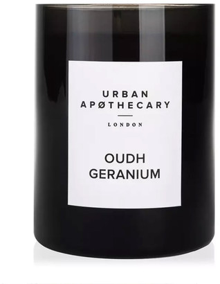 Urban Apothecary London Oudh Geranium Luxury Mini Candle 70G
