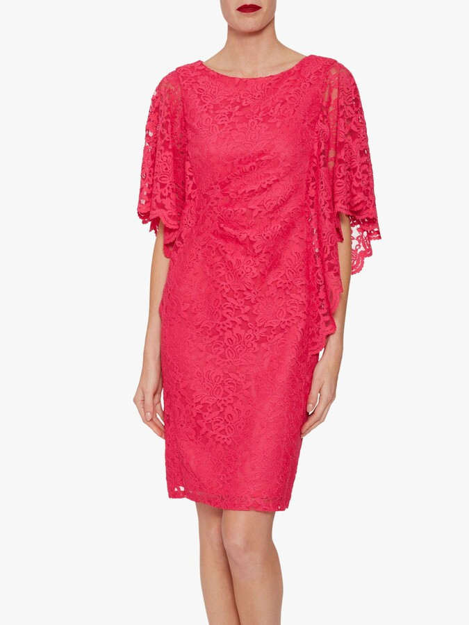 Thumbnail for your product : Gina Bacconi Satina Floral Lace Dress