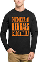 '47 Men's Cincinnati Bengals Compton Club Long-Sleeve T-Shirt