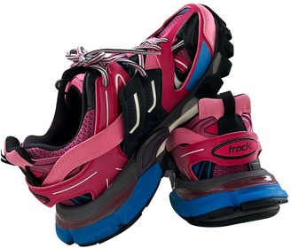 Balenciaga Track Pink Cloth Trainers