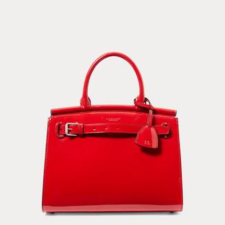 Ralph Lauren Patent Medium RL50 Handbag