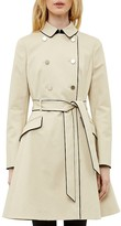 Ted Baker Gilliy Skirted Trench Coat