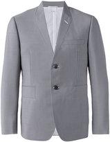 Thom Browne flattened blazer - men - Cotton/Mohair/Wool - 2