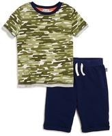 Splendid Boys' Cactus Camouflage Tee & Shorts Set - Little Kid