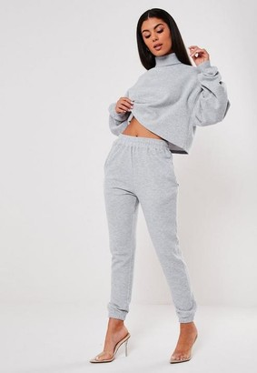 Missguided Tall Gray Basic Joggers