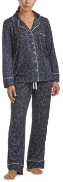 Splendid Women's Notch Collar Floral Pajama Set, Online Only