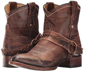 Roper Selah (Brown Leather) Cowboy Boots