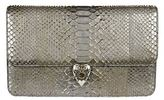 Alexander McQueen Heart Medallion Envelope Clutch
