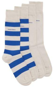 BOSS Two-pack of socks in a combed cotton blend