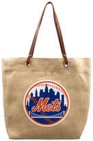 Little Earth New York Mets Burlap Tote Bag