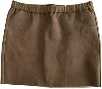 Isabel Marant Brown Suede Skirt for Women