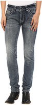 Rock and Roll Cowgirl Mid-Rise Skinny in Medium Wash W1S5622
