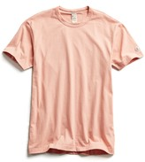 Todd Snyder + Champion Champion Basic Jersey Tee in Pale Salmon