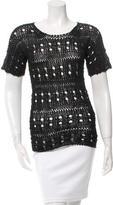 Derek Lam Open Knit T-Shirt w/ Tags