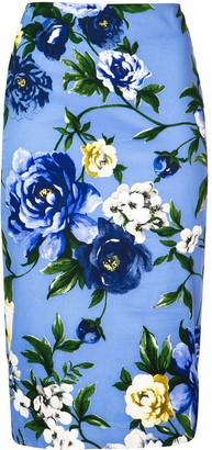 Samantha Sung Chloe floral skirt