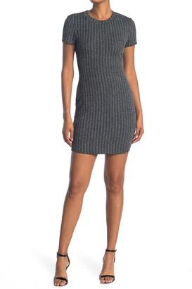 Cloth By Design Plaid T-Shirt Dress