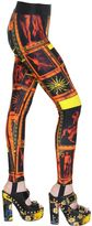 Fausto Puglisi Printed Stretch Leggings
