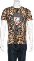 Givenchy Leopard Clown T-Shirt