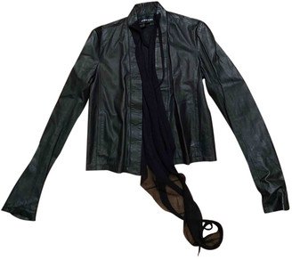 Damir Doma Black Leather Leather jackets