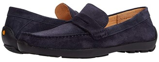 Samuel Hubbard Free Spirit for Him (Navy Suede) Men's Shoes