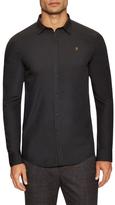 Farah Larch Slim Long Sleeve Sportshirt