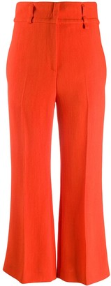 Emilio Pucci Flared Cropped Trousers