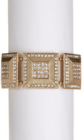 Natasha Accessories Crystal Square Stretch Bracelet