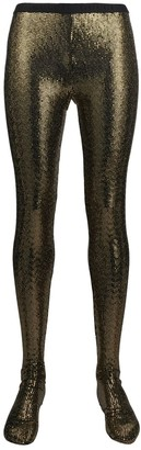 Gucci Sequin-Embellished Tights