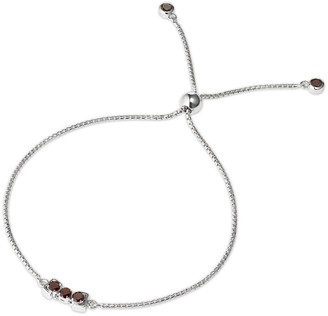 Tsai X Tsai San Shi Garnet Bracelet Sterling Silver