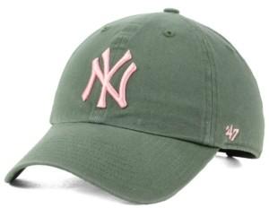 '47 New York Yankees Moss Pink Clean Up Cap