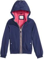 Jessica Simpson Hooded Bomber Jacket, Big Girls