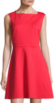 1 STATE 1.STATE Fit & Flare Sleeveless Dress, Red