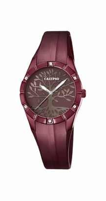 Calypso Women's Analogue Quartz Watch with Plastic Strap K5716/F