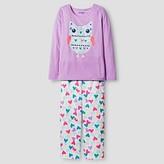 Girls' Long Sleeve Pajama Set Cat & Jack - Owl