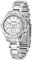Sector Women's Quartz Watch with Blue Dial Analogue Display and Silver Stainless Steel Bracelet R3253250507
