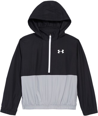 Under Armour Mesh Lined Hooded Pullover