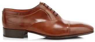 Artioli Leather Cap Toe Oxfords