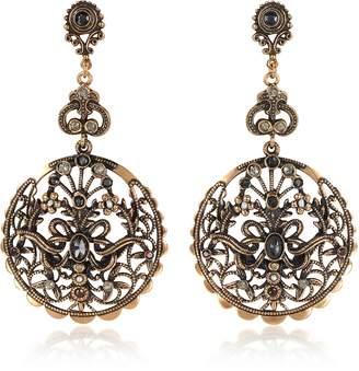 Alcozer & J Drop Earrings w/Semi Precious Stones