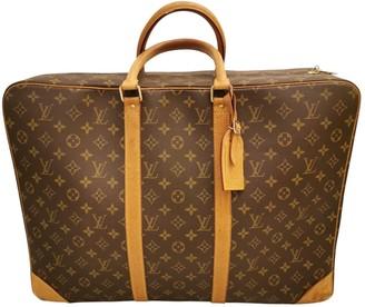 Louis Vuitton Satellite Brown Cloth Bags