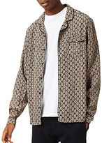 Topman Geo-Printed Pyjama Shirt