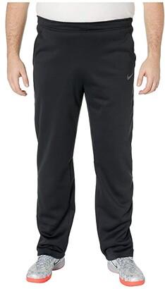 Nike Big Tall Thermal Pants Regular (Black/Metallic Hematite) Men's Casual Pants