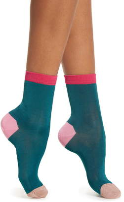 Hysteria By Happy Socks Grace Colorblock Ankle Socks