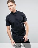 ONLY & SONS Skinny Short Sleeve Smart Shirt