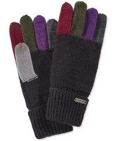 Steve Madden Colorblock Boyfriend Touch Gloves