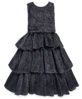 Oscar de la Renta Toddler's, Little Girl's & Girl's Crinkle Sleeveless Silk Dress