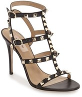 Valentino Women's 'Rockstud' Ankle Strap Sandal