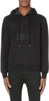Boy London Eagle-appliqué cotton-jersey hoody
