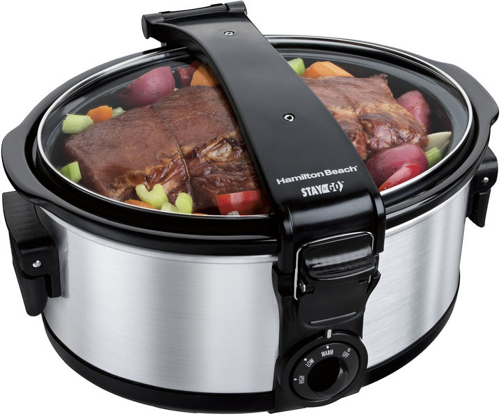 Hamilton Beach Stay or Go 6-qt. Portable Slow Cooker