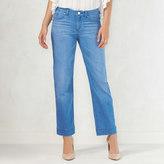 Women's LC Lauren Conrad Crop Straight-Leg Jeans