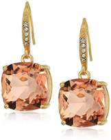 T Tahari Uptown Jewels Women's Btgd Lpch Casted Fh Drop Earrings